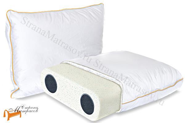 Аскона Подушка Sleep Professor Solo М 40 х 60 см , охлаждение, меморикс