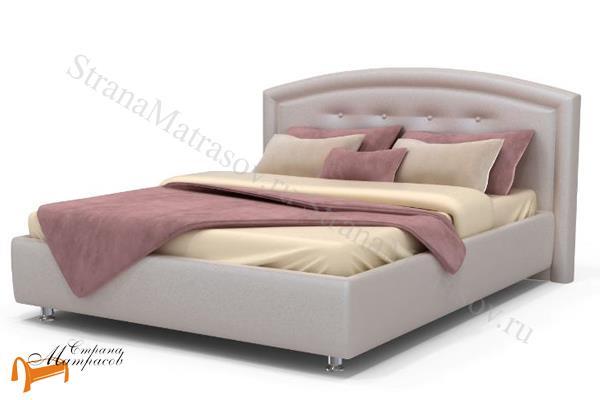 Аскона Кровать двуспальная Grace с подъемным механизмом , спинка, кровать кассандра, кровать Cassandra, Грейс
