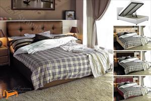 Аскона - Кровать двуспальная Sandra с подъемным механизмом
