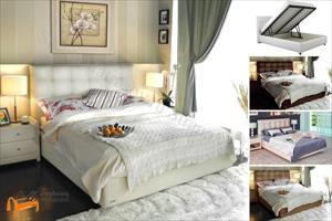 Аскона - Кровать двуспальная Amelia с подъемным механизмом
