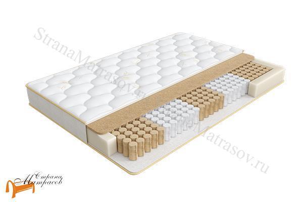 Аскона Матрас HomeSleep Vestа 550 (5 ZoneFlex) , хоум слип веста, односторонний, кокос, лён, пружинный, независимые