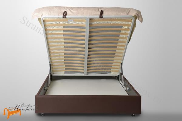 Аскона Кровать двуспальная Greta с подъемным механизмом , крепления, кровать Марта, кровать Marta,