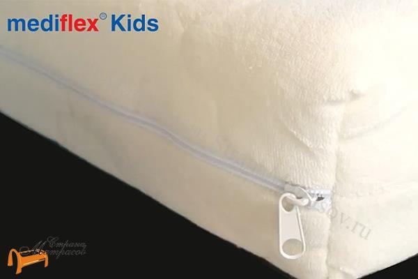 Аскона Детский матрас Mediflex Tutsy Kids , рекомендует Дикуль, детский матрас, съемный чехол, лен