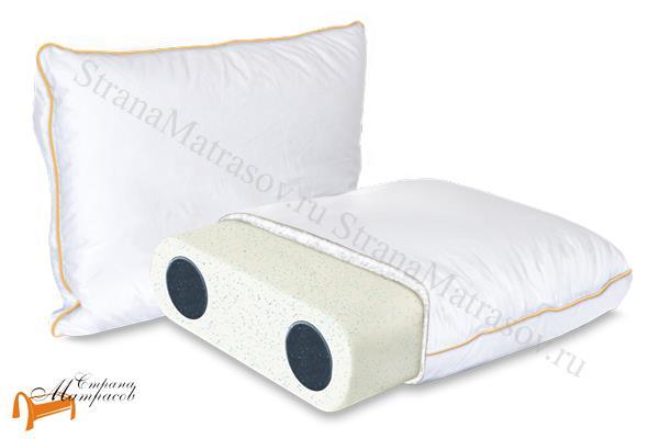 Аскона Подушка Sleep Professor Solo L 40 х 60 см , меморикс, охлаждение