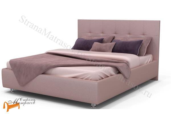 Аскона Кровать двуспальная Fabiano, Hilding Anders , экокожа, кровать Марта, кровать Marta Аскона