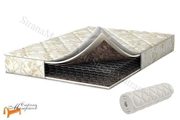 Аскона Матрас Compact Bonus Bonnel , ортопедическая пена, искусственный латекс, скрутка, вакуумная упаковка, зависимые пружины, боннель, кокос, матрас компакт бонус