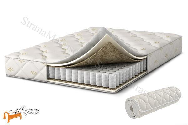 Аскона Матрас Compact Record , ортопедическая пена, искусственный латекс, скрутка, вакуумная упаковка, независимые пружины, войлок, матрас компакт рекорд