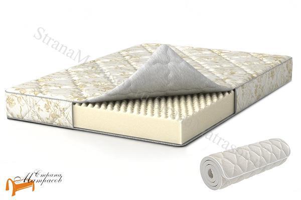 Аскона Ортопедический матрас Compact New , ортопедическая пена, искусственный латекс, скрутка, вакуумная упаковка, матрас компакт нью