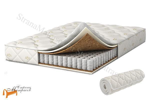 Аскона Матрас Compact Cascade , ортопедическая пена, искусственный латекс, скрутка, вакуумная упаковка, независимые пружины, кокос, матрас компакт каскад