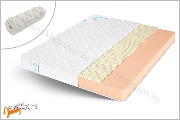 Lonax Матрас Roll Comfort 2 , пена, искусственный латекс, поролоновый, скрутка, ппу