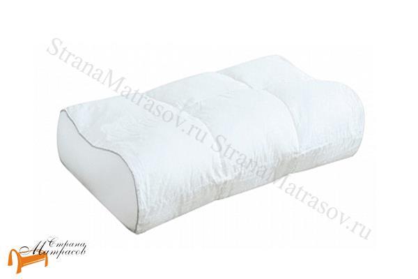 Орматек Наволочка чехол для подушки Ideal Form 37 х 63 см , наволочка из сатина, защита от загрязнений, 37 на 63, можно стирать