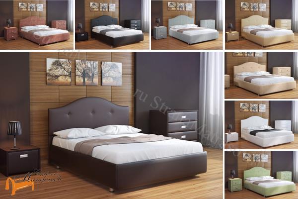 Орматек -  Орматек Кровать двуспальная Veda 7 с основанием (Веда 7)