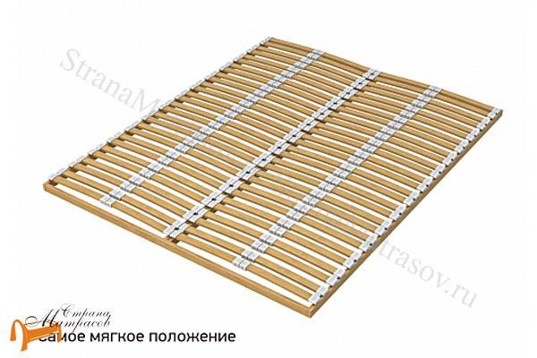 Орматек Основание для кровати березовое Мультиламель с ножками , недорогое, регуляторы жесткости