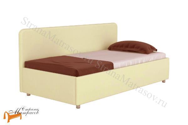 Орматек Кровать тахта - Siesta с подъемным механизмом , угловая кровать, экокожа, рогожка, ткань, ящик, софа