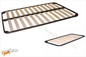 Орматек - Основание для кровати металлическое без ног (с березовыми ламелями)