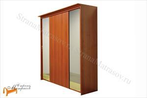 Орматек - Шкаф 4-х дверный - купе Эконом (глубина 450мм) с 2 зеркалами