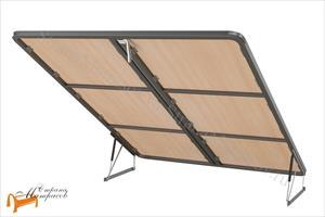 Орматек - Основание для кровати металлическое, сплошное (неупругое) с подъемным механизмом