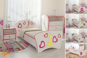 Орматек - Кровать Соната Kids (для девочек) с основанием