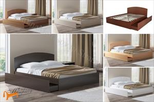 Орматек - Детская кровать (подростковая) Этюд Плюс с основанием и ящиком