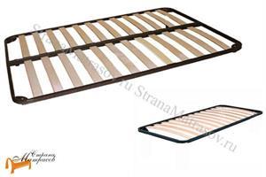 Орматек - Основание для кровати металлическое Летто Медио с березовыми ламелями вкладыш
