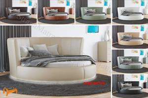 Орматек - Кровать Luna с основанием (круглая)