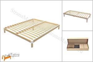 Орматек - Основание для кровати березовое разборное с опорами Perfect