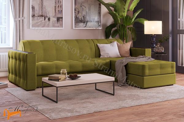 Орматек Диван Ergonomic Dream (угловой) (с ортопедическим матрасом) , диван, кровать, мягкая мебель, велюр, раскладывается, аккордеон, зеленый, белый, кремовый, желтый, черный, коричневый, лимонный, бежевый, красный, голубой