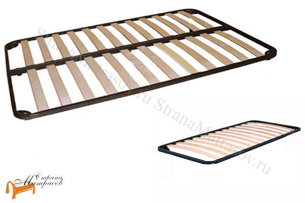 Орматек Основание для кровати металлическое без ног (с березовыми ламелями) , ламели, металл, орматек