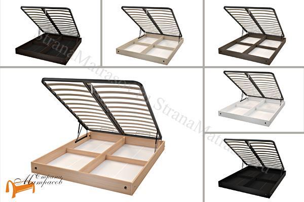 Орматек Основание для кровати короб с подъемным механизмом высота 20см , лдсп, белый, черный, венги, ясень шимо, бук,