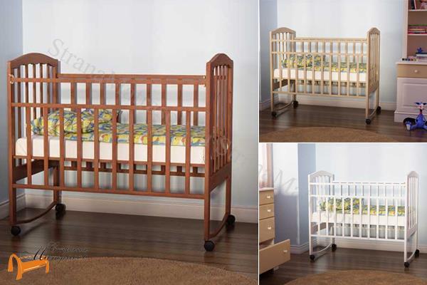 Орматек - детская кровать Орматек Золушка 1 на колесиках