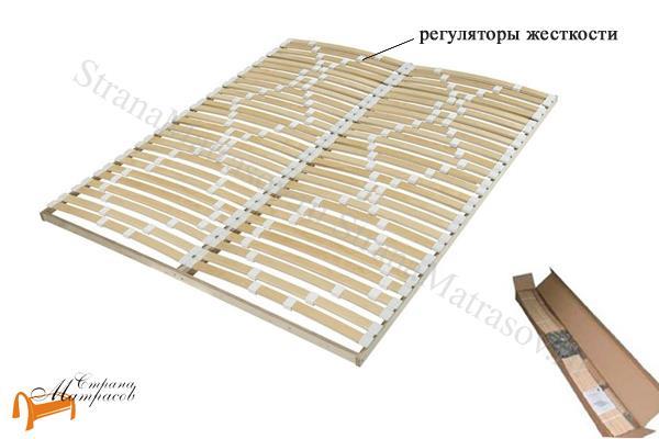 Орматек Основание для кровати разборное березовое Мультиламель (вкладыш) , недорогое, без ножек, регуляторы жесткости