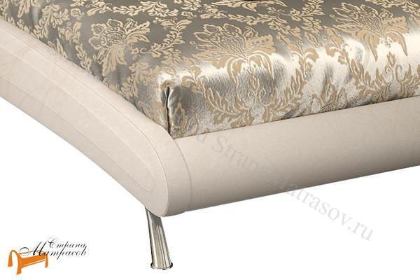 Орматек  двуспальная Corso 2 , экокожа, жемчуг, кровать Корсо