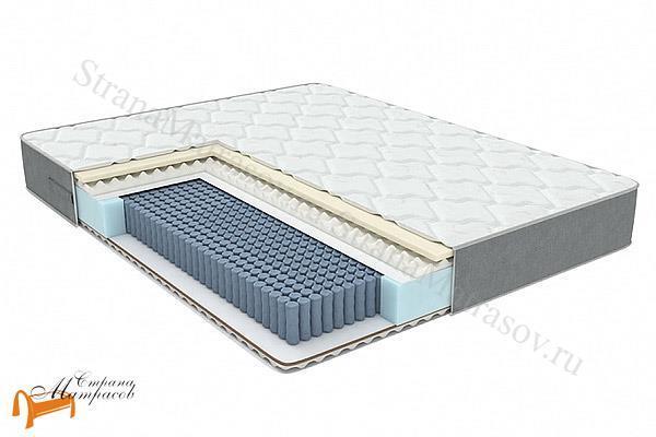 Орматек Матрас ЕВА Pro EVS 1000 , независимый пружинный блок, меморикс, кокос, пена, ппу, искусственный латекс, с эффектом памяти