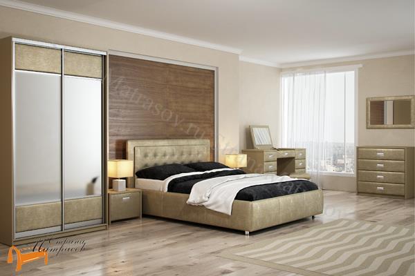 Орматек Зеркало настенное Como / Veda  , экокожа, ткань, рогожка, велюр, белый, черный, кремовый, бежевый, коричневый, золотой, жемчуг, крокодил,