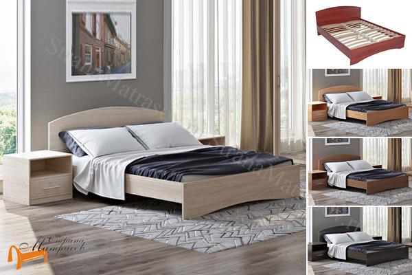 Орматек Детская кровать (подростковая) Этюд  с основанием , лдсп, бавари, ноче гварнери, ноче мария луиза, венги, французский орех, итальянский орех,