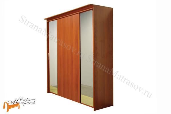 Орматек -  Орматек Шкаф - купе Эконом 4-х дверный (глубина 450мм) с 2 зеркалами