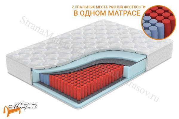 Орматек Матрас Home Harmony EVS 500 (2 зоны) , независимый пружинный блок, пена, ппу, ормафоам