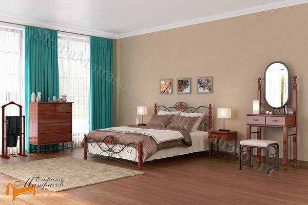 Орматек Комод Garda 2R (4 ящика) , металл, гарда, дерево гевеи, дерево березы, белая, венги, коричневая, орех