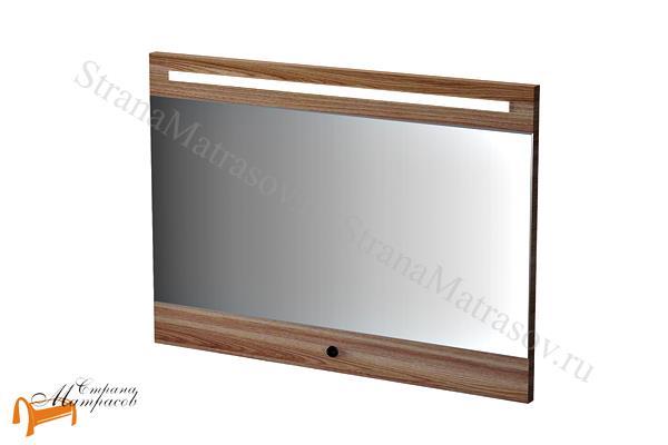 Орматек Зеркало Ever с подсветкой  , зеркало из ЛДСП, зеркало с подсветкой, белый, черный, венге, ясень, бежевый
