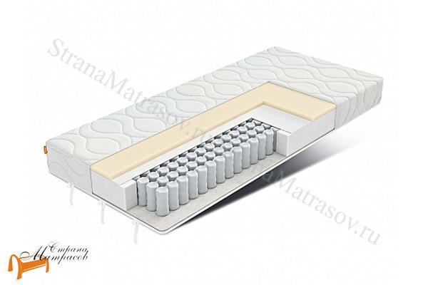 Орматек Матрас для дивана ортопедический Orto Synergy Memory 4D Smart , независимые пружины 512 шт, материал с эффектом памяти,повторяет форму тела