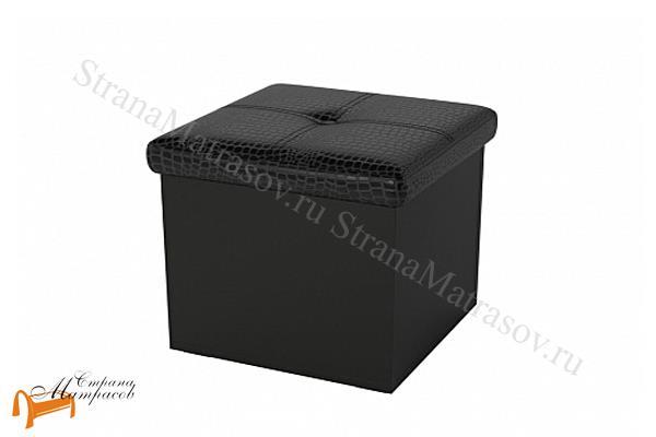 Орматек  Пуф Como/Veda одноместный (экокожа и ЛДСП) с ящиком