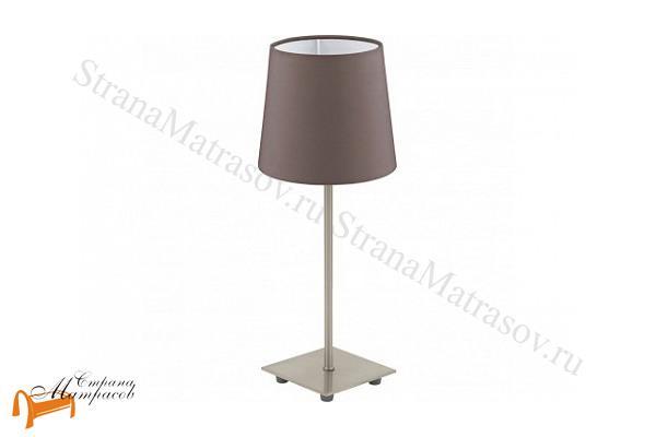 Райтон  Настольная лампа Lauritz 92882 , светильник, ткань, сталь, металл