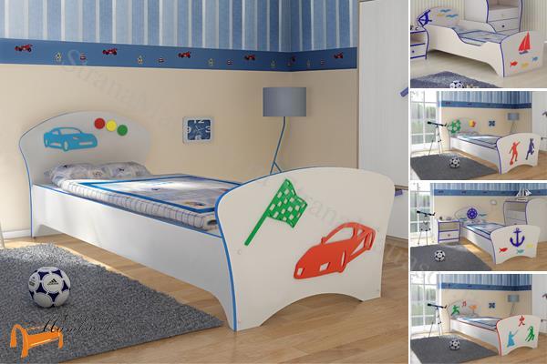 Орматек - детская кровать Орматек Соната Kids (для мальчиков) с основанием