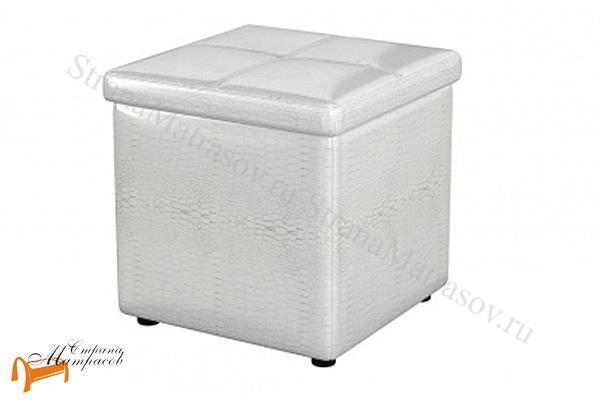 Орматек  Пуф Orma Soft 2 одноместный с ящиком , пуфик, экокожа, ящик, ткань, рогожка, велюр, белый, черный, кремовый, бежевый, коричневый, лен, рыжий, серый, перламутр