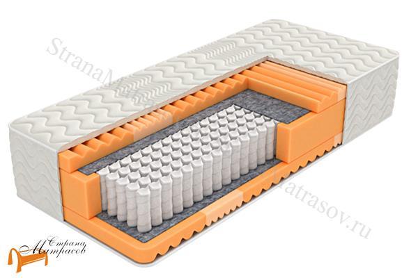 Орматек Ортопедический матрас Evolution PS 760 , мягкий матрас ормтаек, пена, ппу,  зональный, 620 пружин высокий, 31 см
