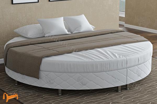 Орматек Кровать Motel Round с основанием , кровать мотел, без изголовья, для отеля, для гостиницы, огнеупорный, огнестойкий ткань, негорючая ткань
