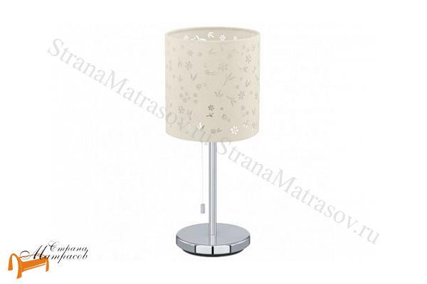 Райтон  Настольная лампа Chicco 1 91395 , светильник, текстиль, хром