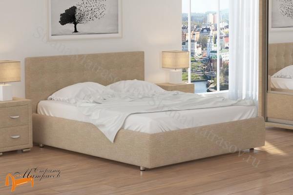 Орматек Кровать Veda 1 с основанием , экокожа, ткань, рогожка, велюр, золото, олива, белый, чёрный, кремовый, бежевый, коричневый, зеленый, красный,