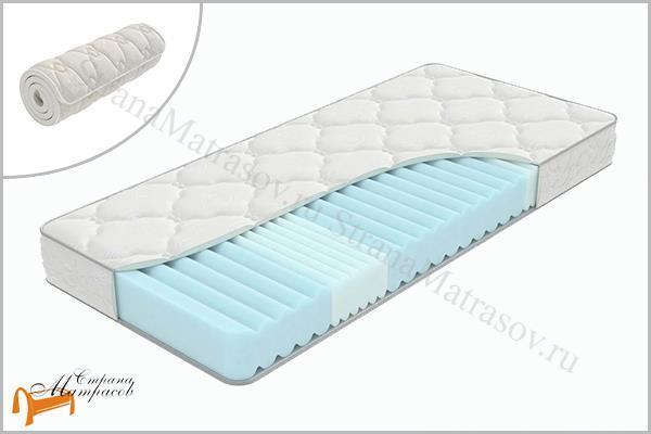 Орматек Матрас Flex Zone , беспружинный, вакумный матрас, пяти зональный, из пены, высокий, поролоновый