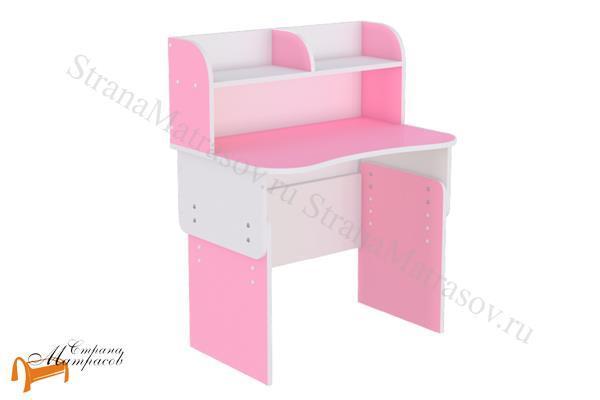 Орматек  Компьютерный стол Соната Junior , лдсп, полка, джуниор, розовый, голубой, салатовый, белый, коричневый